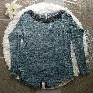 Studio Y Long sleeve blouse sz~M